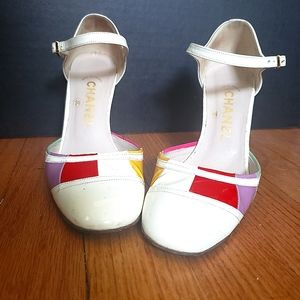 Chanell vintage heels